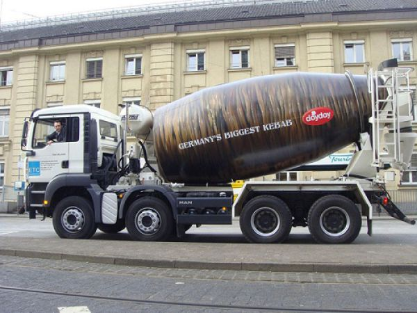 Truck Advertising Design Ideas