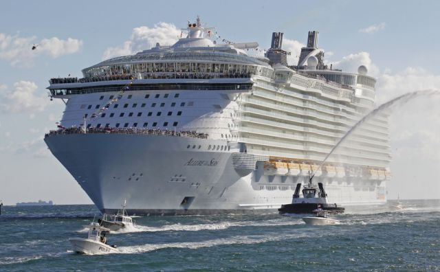 The Largest Passenger Ship Ever Constructed