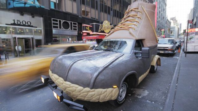 A Real Bootmobile