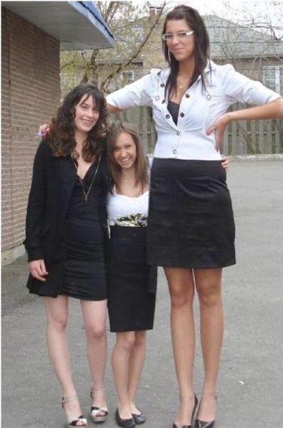 Aren't They a Bit Too Tall?