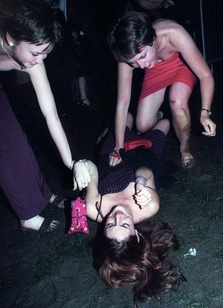 UK University Grads Party Hard
