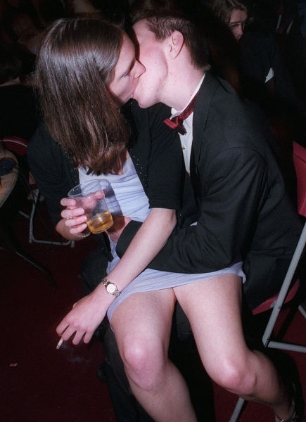 UK University Grads Party Hard