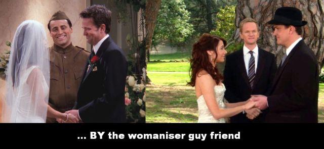 Uncanny Friends & HIMYM Similarities