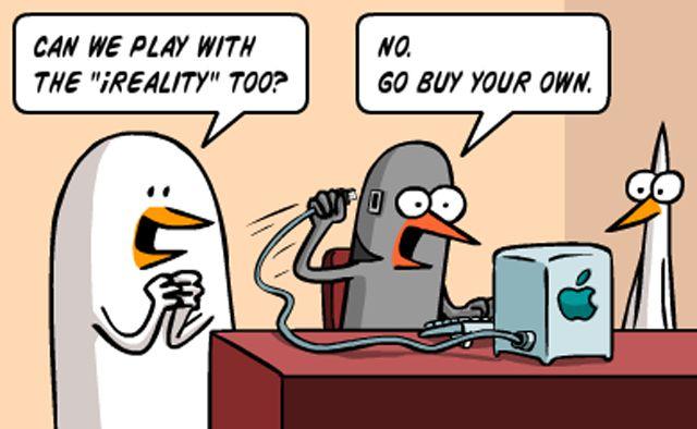 The iReality Comic