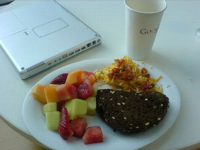 What Google Employees Eat