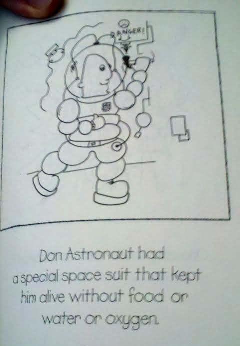 Don Astronaut's Adventurous Life