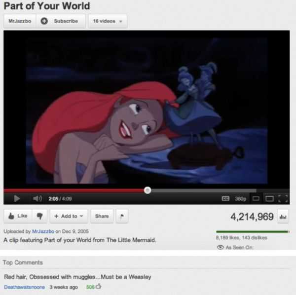 Really Funny YouTube Comments. Part 2 (21 Pics)