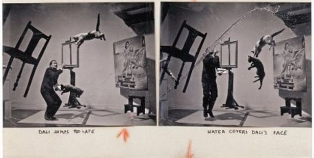 "How the Famous ""Dali Atomicus"" Photo Was Taken"