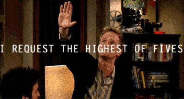 Barney Stinson Is to Raise Your Mood