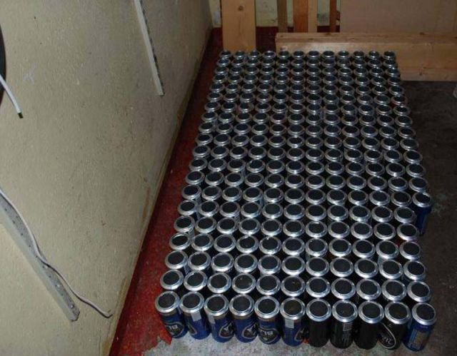 How to Decorate Your House with Beer Cans