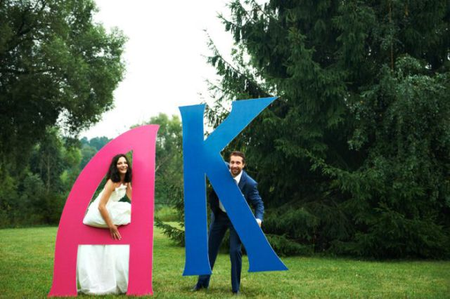 Креатив на свадьбе