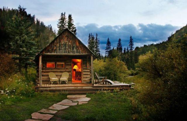 unique cabins in the woods 47 pics izismile com