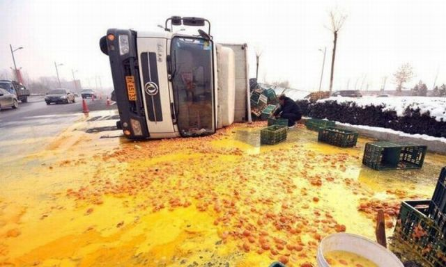 Chinese Mess on the Road