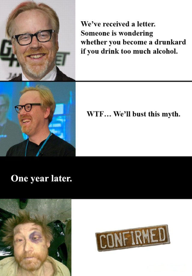 New Task for MythBusters