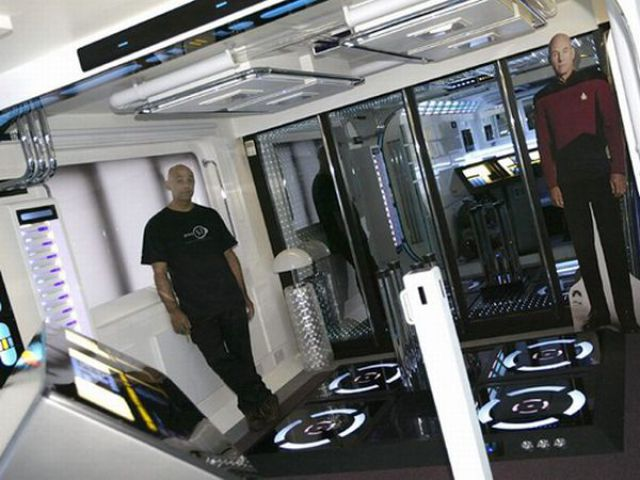 The Real-Life USS Enterprise Apartment