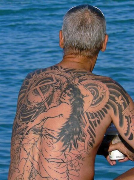 Grannies and Grandpas with Tattoos