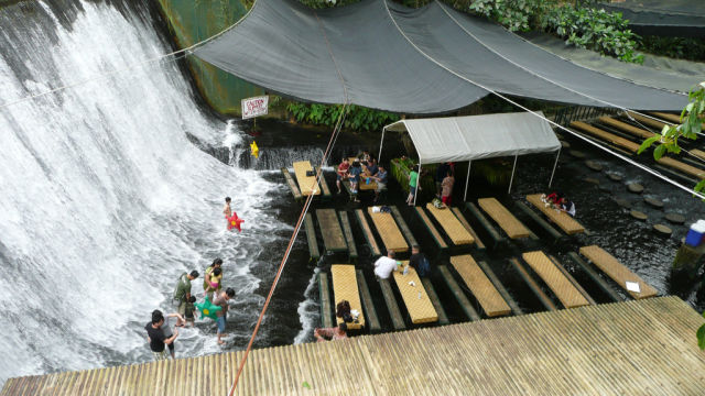 A Literal Waterfall Restaurant