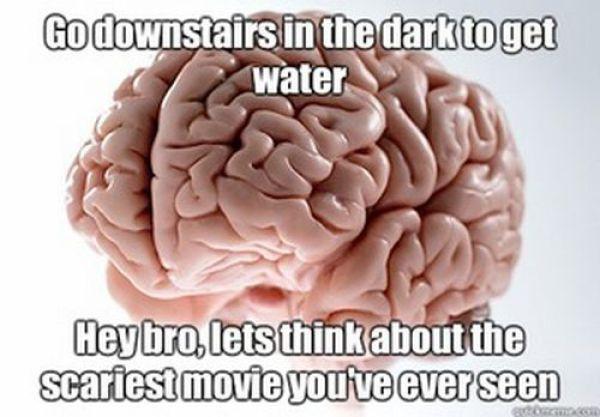 """Funny """"Scumbag Brain"""" Meme"""