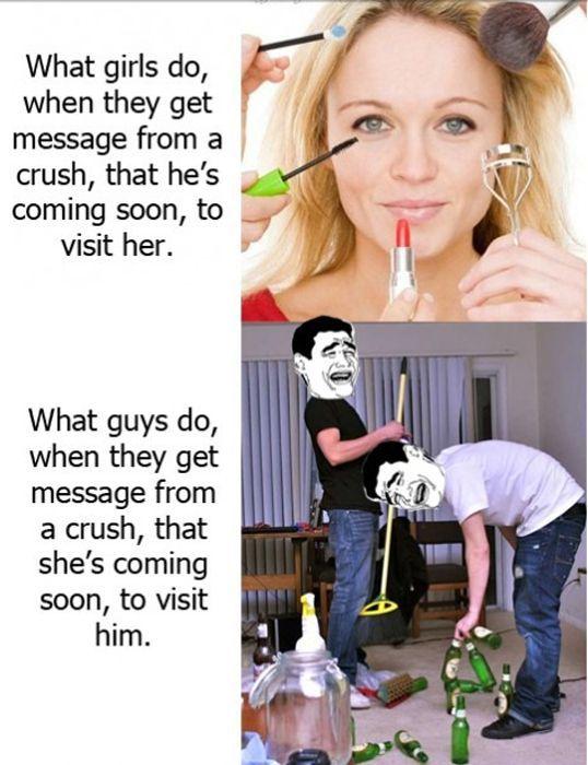 Guys vs. Girls