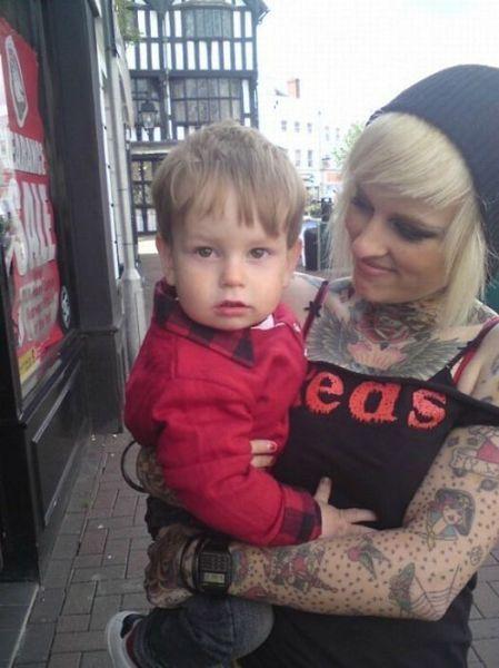 Tattooed Parents