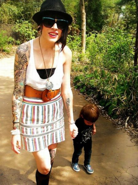 Tattooed Parents