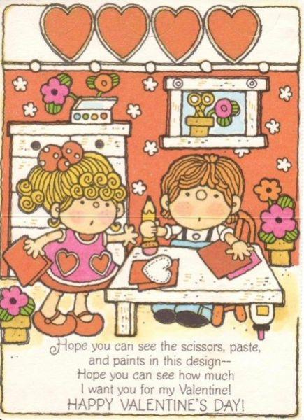 Amazing Classic Cartoon Valentines