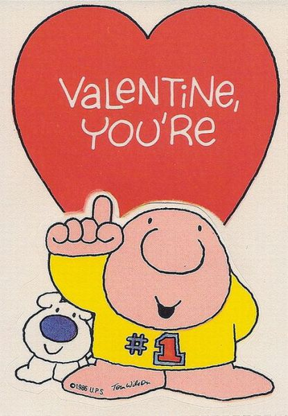 Amazing Classic Cartoon Valentines