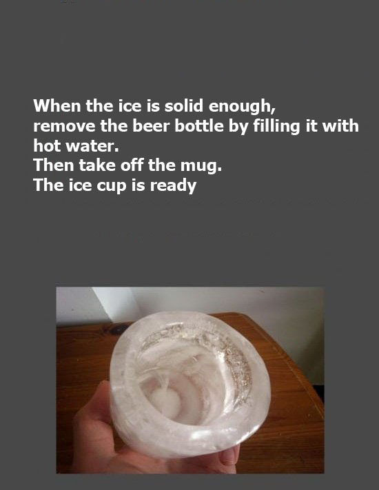 How to Make an Ice Cup