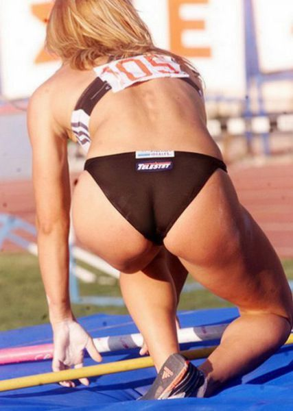 Seductive Pole Vaulting Girls