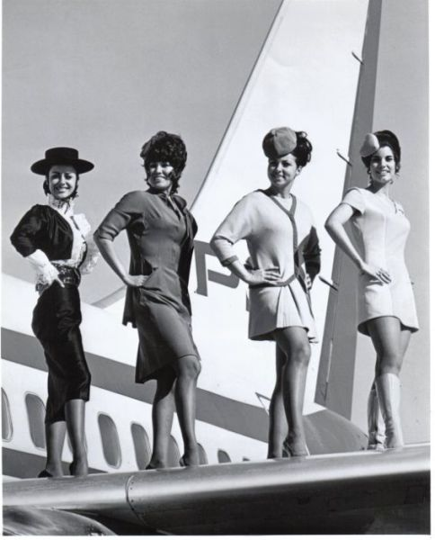 Stewardesses From Around the World