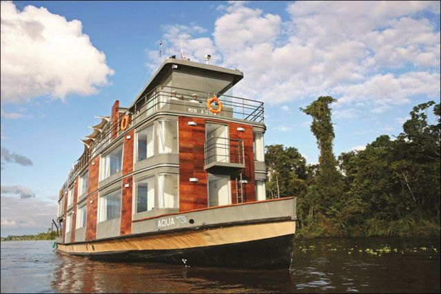 Awesome Amazon Floating Hotel