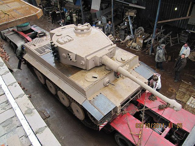 Handcrafted Tiger I Tank Replica