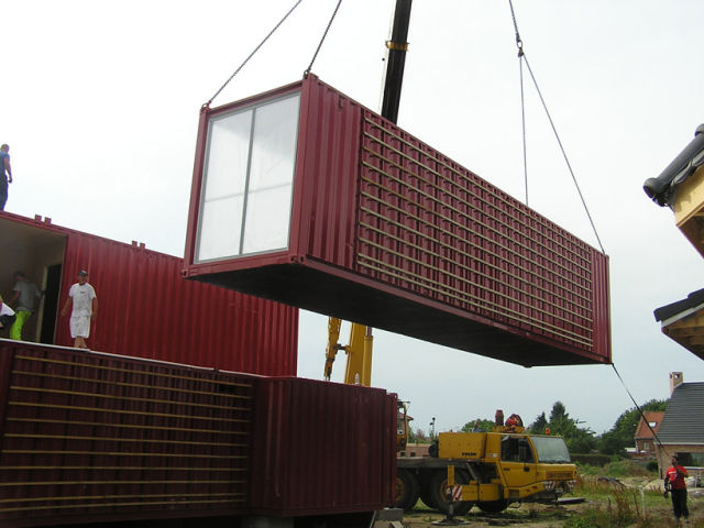 Living in Shipping Containers