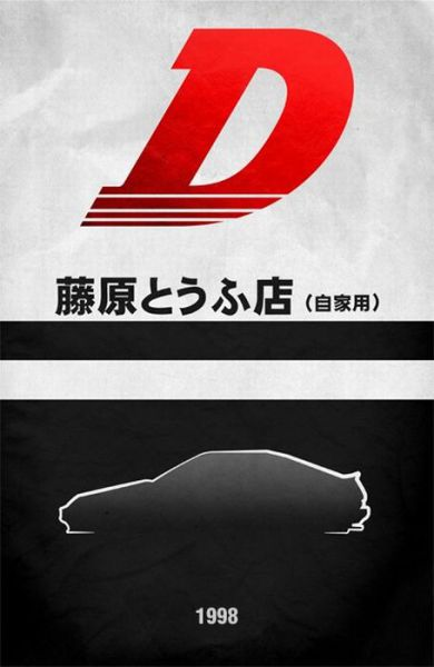 Stylish Posters of Movie Cars