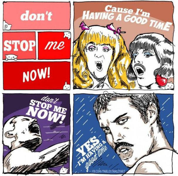 """Don't stop me now"" in Pictures!"