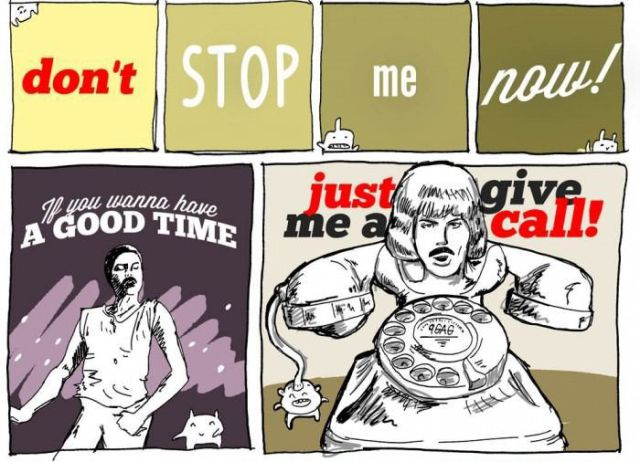 """""""Don't stop me now"""" in Pictures!"""