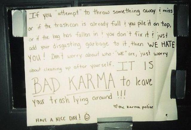 Funny Passive Agressive Notes