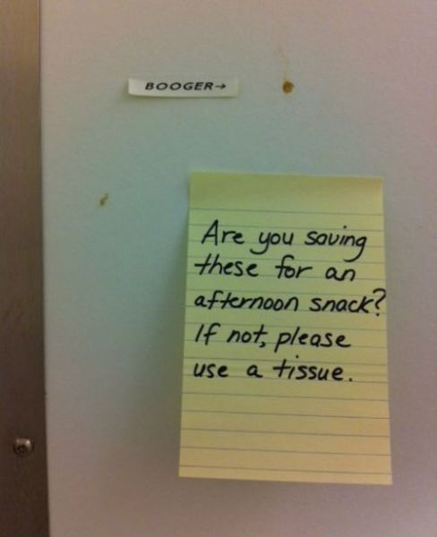 Funny Passive Agressive Notes