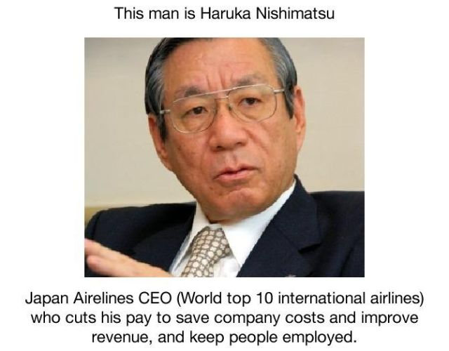 World's Most Austere CEO