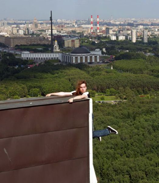 Breathtaking Urban Climbing in Russia