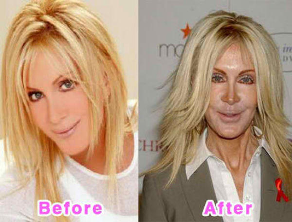 15 Photoshopped Transformations of Celebs and Models