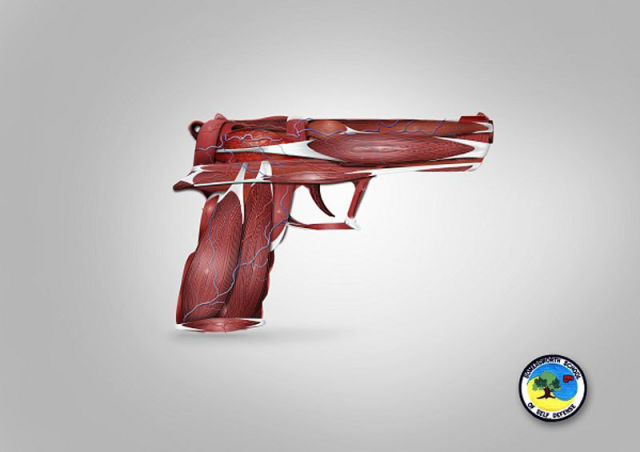 Creative Ads of Self-Defense Schools