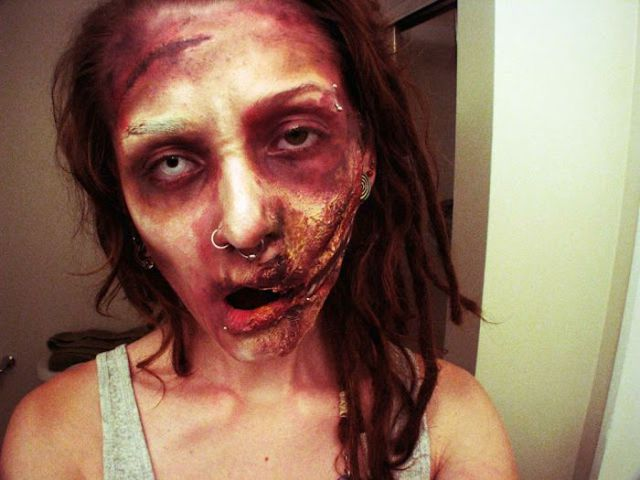 Scary Zombie Makeups