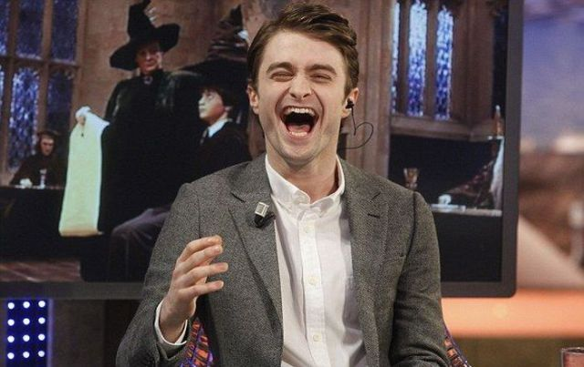 Daniel Radcliff's Tongue Magic