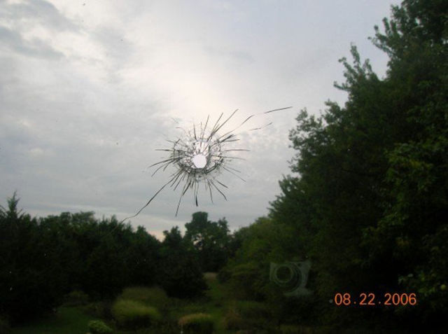 Crazy Stray Bullet Photos from Kansas