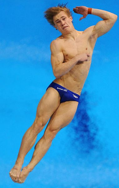Divers' Funny Mid Air Contorted Faces