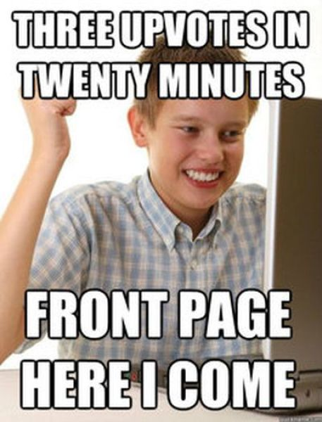 """""""First Day on the Internet Kid"""" Meme"""
