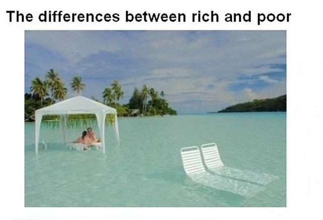 One Big Difference Between the Rich and Poor