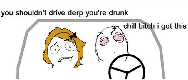 Troll's Way to Drive Drunk