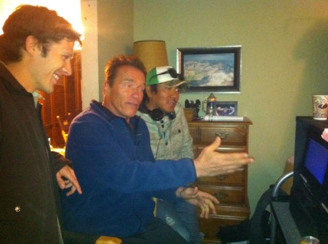 Twitter Photos of Arnold Schwarzenegger